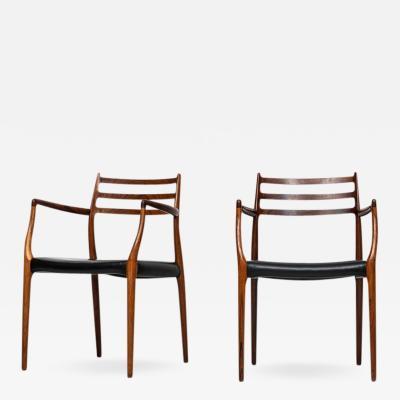 Niels Otto Moller Niels O M ller armchairs model 62