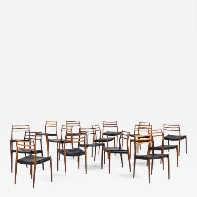 Niels Otto Moller Niels O M ller dining chairs