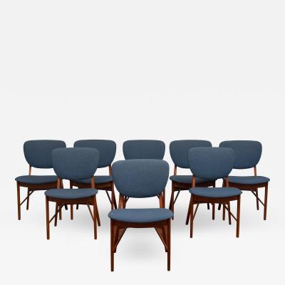 Niels Vodder P Vodder Dining Chairs Model PV55 for Niels Vodder