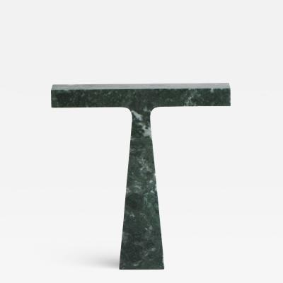 Niko Koronis Bruchi Lamp in Green Guatemala Marble