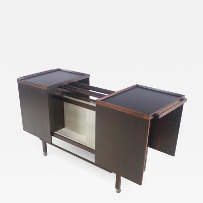 Nils Erik Incredible Scandinavain Modern Rosewood Bar Cabinet Designed by Nils Erik
