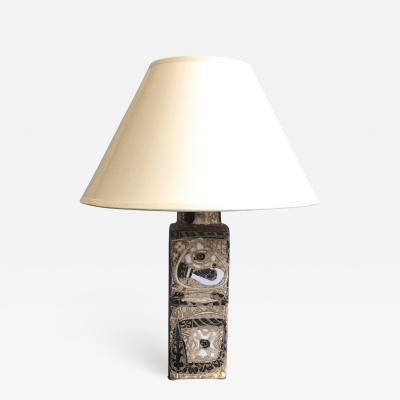 Nils Thorsson Mid Century Vintage Table Lamp by Nils Thorsson 1960s