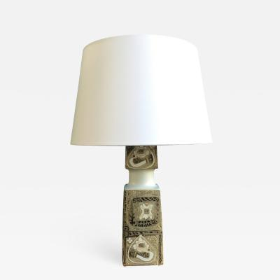 Nils Thorsson Mid Century Vintage Table Lamp by Nils Thorsson for Fog Morup 1960s