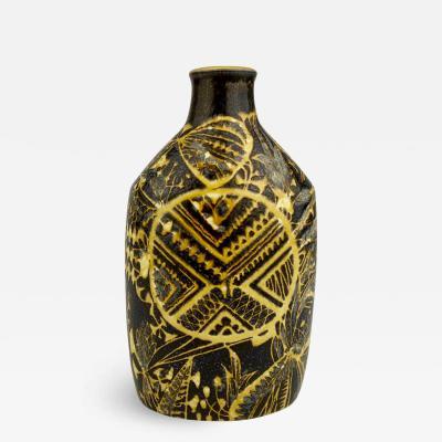Nils Thorsson Nils Thorsson Royal Copenhagen Brown Bottle Vase