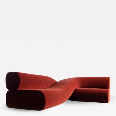 Nina Edwards Anker Twist Sofa