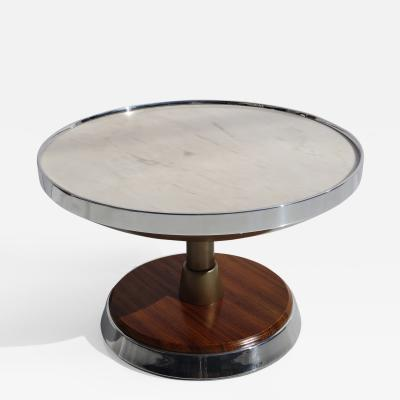 Nino Zoncada Illuminated Side Table From SS Stella Solaris Cruise Ship
