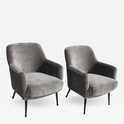Nino Zoncada Nino Zoncada Club Chairs from Stella Maris II Ocean Liner