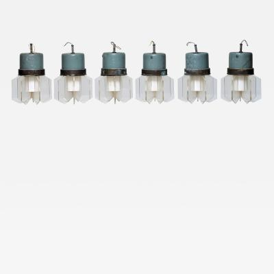 Nino Zoncada chandeliers for the transatlantic Augustus 1950 Zoncada Ponti