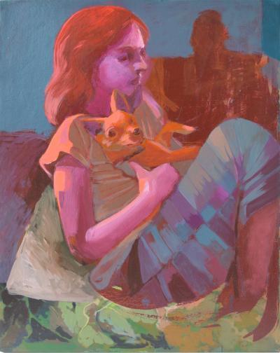 Ninos Oil on Canvas
