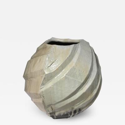 Nishihata Tadashi Large Glazed Contemporary Vessel by Nishihata Tadashi