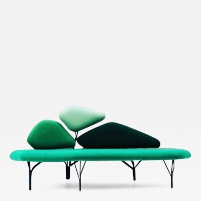 No Duchaufour Lawrance Green Borghese Sofa No Duchaufour Lawrance
