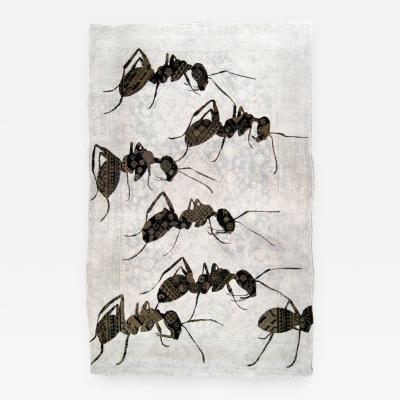 No mi Kiss ANTS tapestry