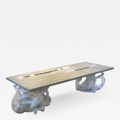 No mi Kiss CONCRETE CRACK PLUSH table