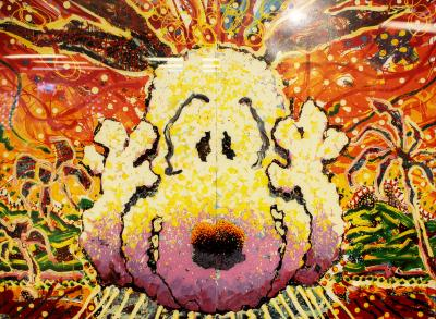 Nobody Barks in LA Lithograph by Tom Everhart Number 270 350
