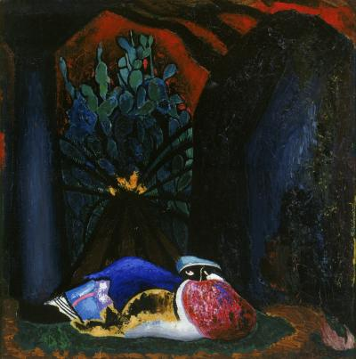 Joseph Stella Nocturne Duck and Arches c 1930