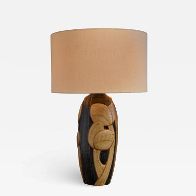 Noomi Backhausen One of two Noomi Backhausen large table lamps