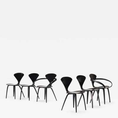 Norman Cherner dining chairs set of six