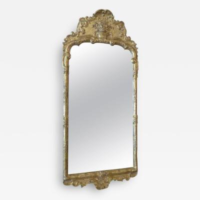 Northern European 18th Century Mirror