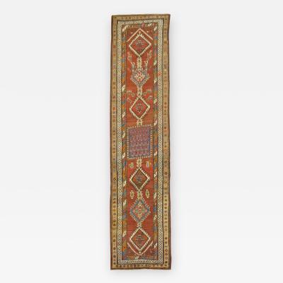 Northwest Tribal Runner rug no j1475
