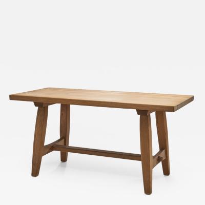 Norwegian Solid Pine Coffee Table by Krogen s Norway 1960s