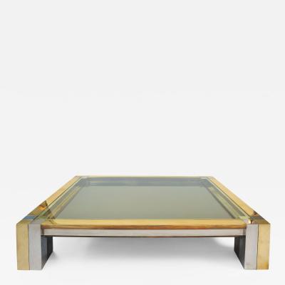 Nucci Valsecchi Impressive 1960s Square Coffee Table by Nucci Valsecchi