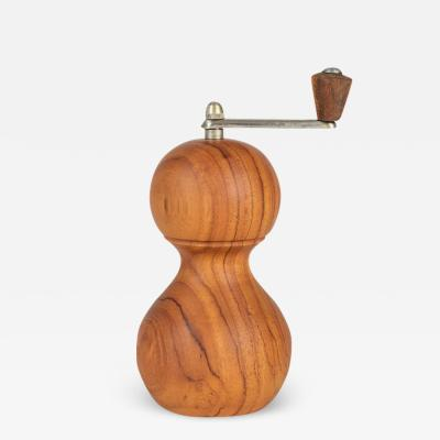 Nutmeg mill walnut wood Zassenhaus West Germany 60s