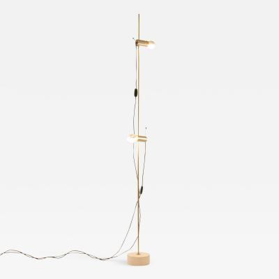 O Luce Model 387 Floor Lamp by Tito Agnoli for O Luce 1950s