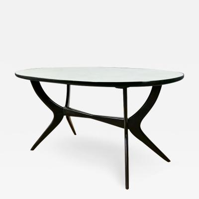 OVAL DINING TABLE ITALY 1945 50