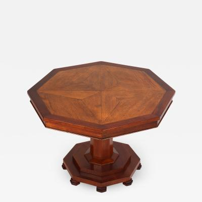 Oak Floor Panel Mounted as a Coffee Table 19th c