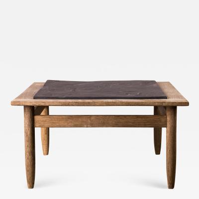 Oak Slate Coffee Table