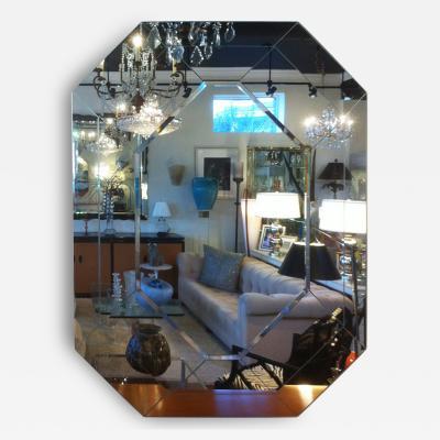 Octagon Panel Mirror