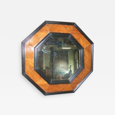 Octagonal 19th century Baroque style Mirror