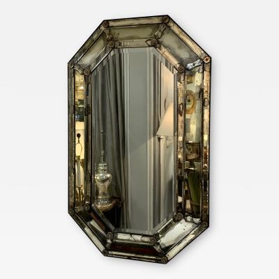 Octagonal Venetian Mirror