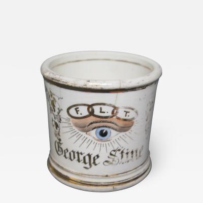 Odd Fellows Lodge Cup with Eye