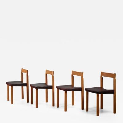 Olavi H nninen Olavi Hanninen set of four Tuomas dining chairs Finland 1950s