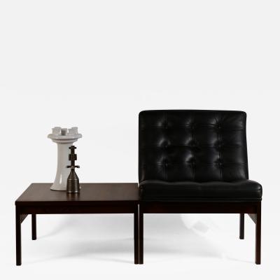 Ole Gjerl v Knudsen Modular Slipper Chair and Table Elements by Ole Gjerl v Knudsen for France S n