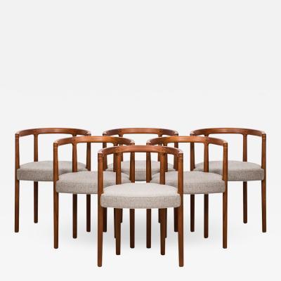 Ole Gjerl v Knudsen Ole Gjerl v Knudsen Model 195 Dining Chairs
