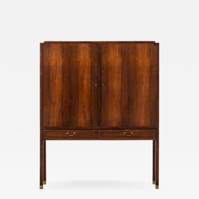 Ole Wanscher Cabinet Produced by Cabinetmaker A J Iversen