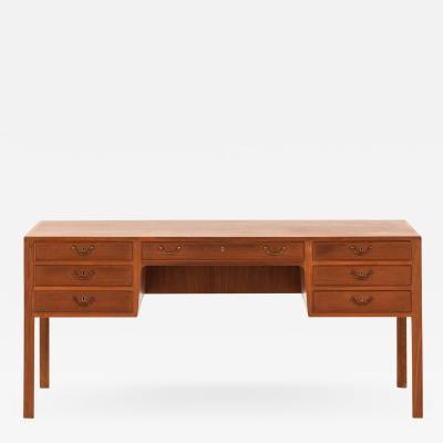 Ole Wanscher Desk Produced by Cabinetmaker A J Iversen