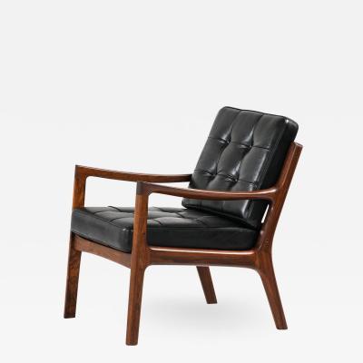 Ole Wanscher Easy Chair Model 116 Senator Produced by France Son
