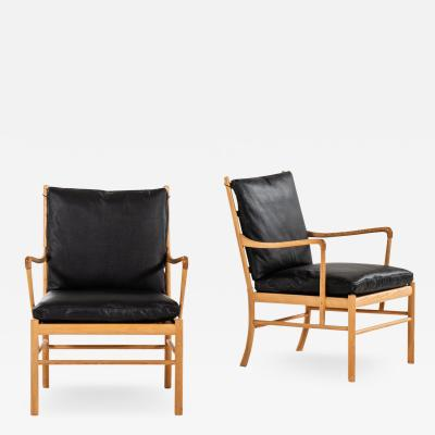 Ole Wanscher Easy Chairs Armchairs Model PJ 149 Colonial