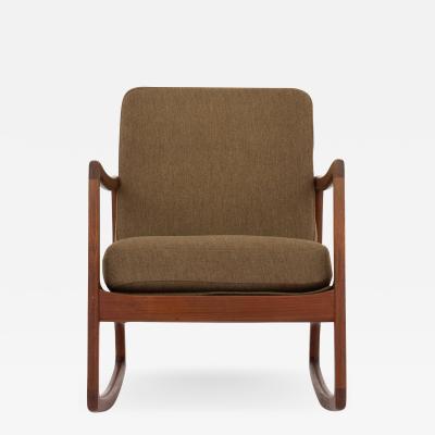 Ole Wanscher FD 110 Rocking chair in teak