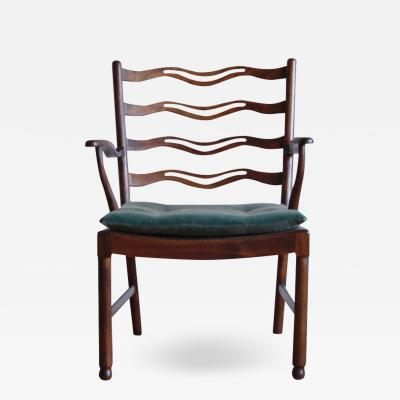 Ole Wanscher Ole Wanscher Armchair Model No 1755 for Fritz Hansen