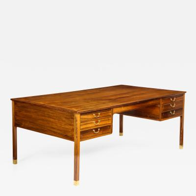Ole Wanscher Ole Wanscher Brazilian Rosewood Desk circa 1940s 1950s