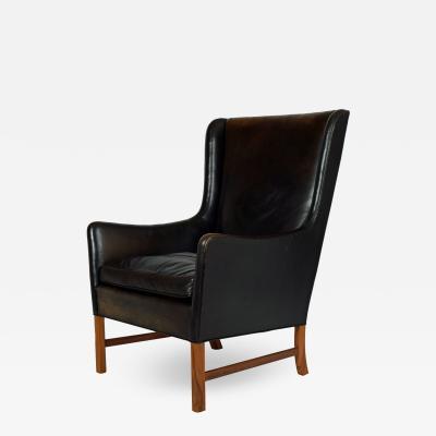 Ole Wanscher Ole Wanscher High back Arm Chair for A J Iversen 1962