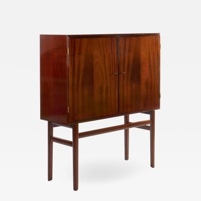 Ole Wanscher Ole Wanscher Mahogany Bar Cabinet Circa 1950s