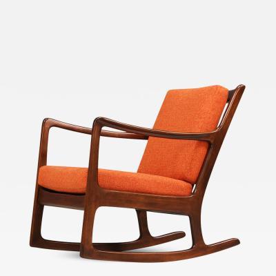 Ole Wanscher Ole Wanscher Rocking Chair for France S n