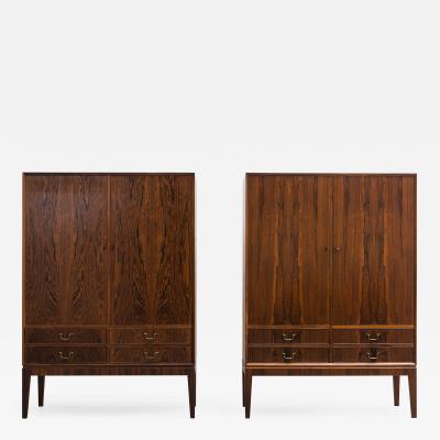 Ole Wanscher Ole Wanscher Rosewood Cabinet Pair Denmark c 1960s