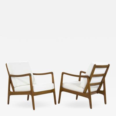 Ole Wanscher Scandinavian Teak Lounge Chairs Model FD109 by Ole Wanscher