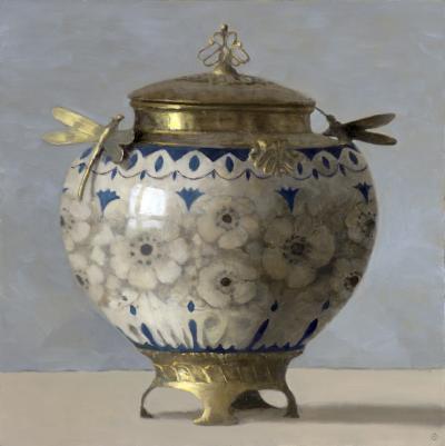 Olga Antonova Floral Urn